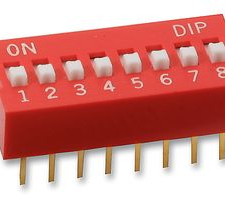 Dip Switch Deslizable De 8 Posiciones