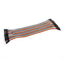 Juego de 40 Cables DuPont para conexiones Macho a Macho