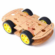 Chasis de vehiculo para Arduino 4 Llantas