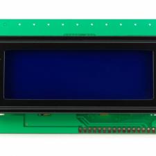 Pantalla LCD caracteres 20x4 fondo azul