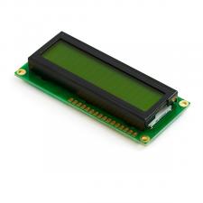 Pantalla LCD caracteres 16x2 fondo verde