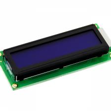 Pantalla LCD caracteres 16x2 fondo azul