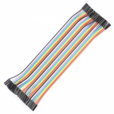 Juego de 40 Cables DuPont para conexiones Hembra a Hembra